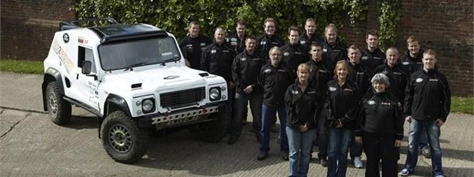 Land Rover s'investira sur le Dakar 2013...