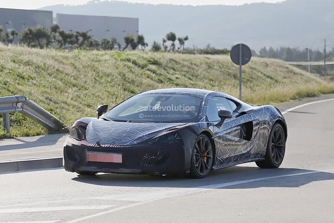 Surprise : la future McLaren Sport Series P13 se montre