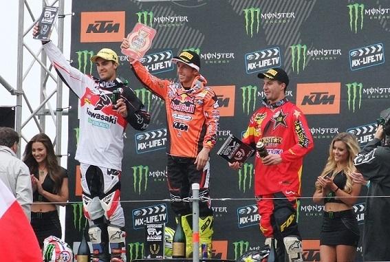 MX GP - France : MX 1, Paulin gagne une manche, Cairoli le GP
