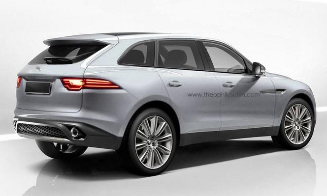 Futur SUV Jaguar : comme ça ?