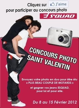 Jeu concours: Esquad vous offre des jeans pour St Valentin