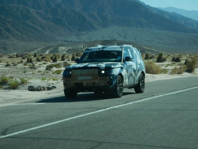 Surprise (par un lecteur) : le futur Range Rover cuit dans la vallée de la Mort