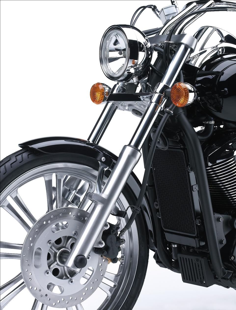 Nouveauté 2008 : Kawasaki VN900 Custom, les photos