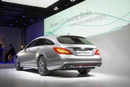 Caradisiac en direct du Festival of Speed de Goodwood : Mercedes CLS Shooting Brake dit le déménageur élégant