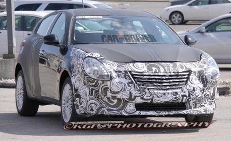 Future Chrysler 100: une nouvelle compacte