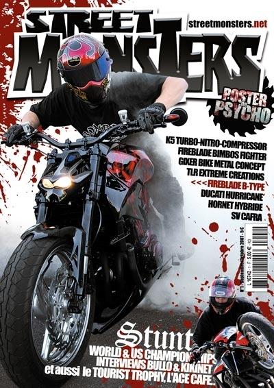 """Street Monsters : un """"petit"""" nouveau dans la presse moto"""