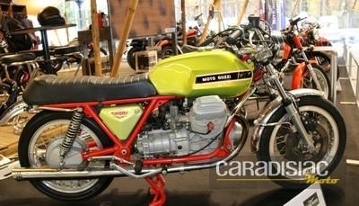 Salon Moto Légende 2016: Moto Guzzi à l'honneur, les constructeurs et partenaires.