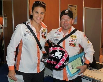 Dakar 2011 : Une Espagnole au départ, la championne de trial, Laia Sanz