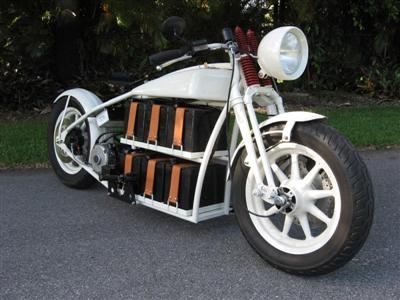 """Electric cruiser"" : et si Thomas Edison avait roulé en Harley !"