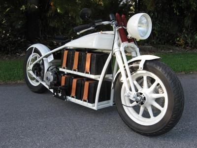 """Electric cruiser"" : et si Thomas Edison avait roulé en Harley !"