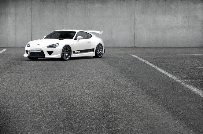GRMN Sports FR Concept : une GT86 avec un moteur
