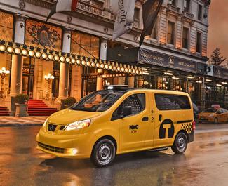Nouveau taxi New Yorkais, le Nissan NV200