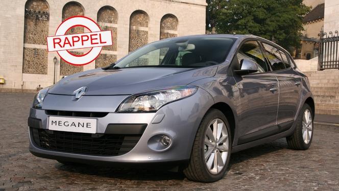 Rappel de Renault Mégane 3 et Fluence : airbags capricieux