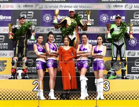 Peter Hickman remporte le Grand Prix de Macao 2016