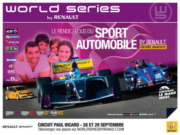 World Series by Renault au Paul Ricard : c'est ce week-end et c'est toujours gratuit !