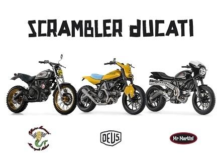 Nouveautés - Ducati: trois Scrambler inédites crèvent l'écran