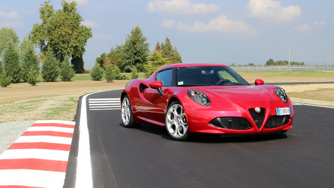 Essai  - Alfa Romeo 4C : Elise à la sauce italienne