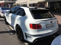Bentley : Mansory s'attaque au Bentayga, attention les yeux
