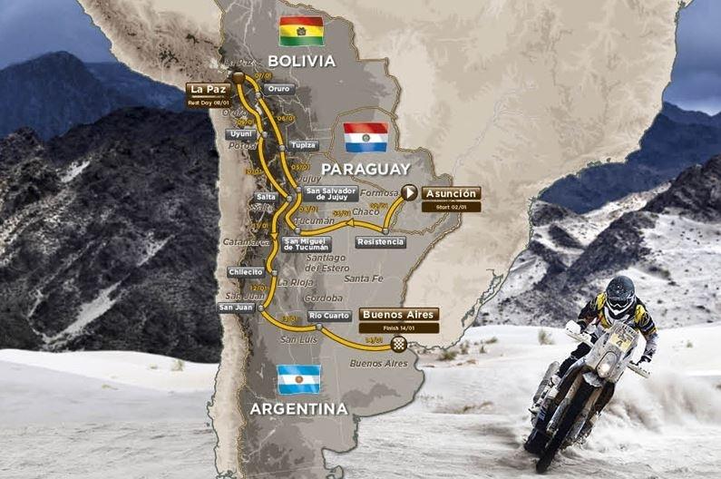 Dakar 2017 : les détails du parcours avant l'embarquement