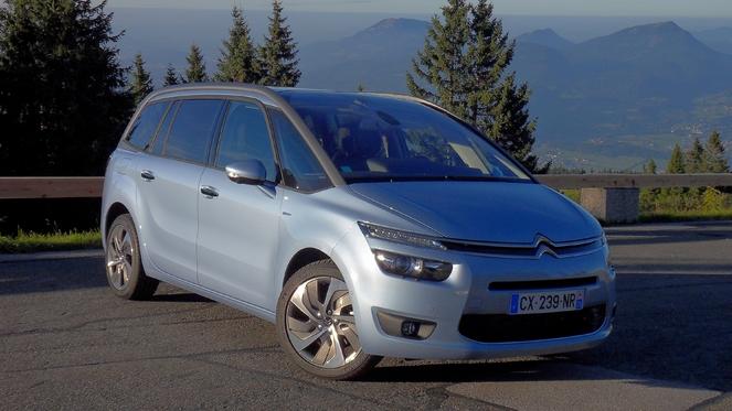 Essai vidéo - Citroën Grand C4 Picasso : chapeau l'artiste