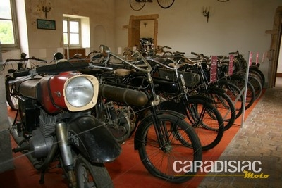 La collection de motos de Savigny lès Beaune.