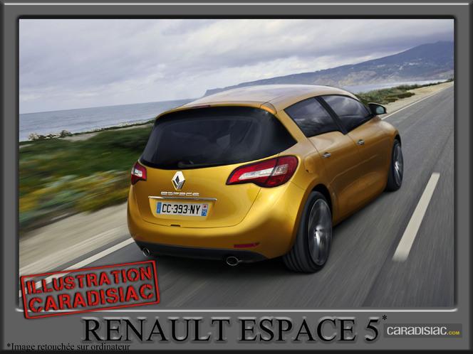 Renault Espace 5 : prêt pour 2013
