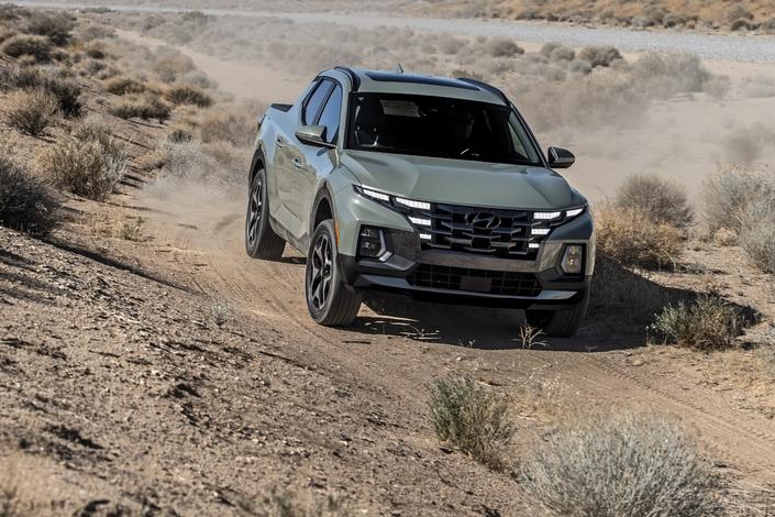 Hyundai dévoile le pick-up Santa Cruz