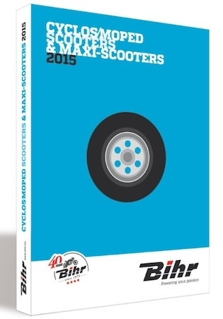 Bihr, catalogue Scooters 2015: il arrive