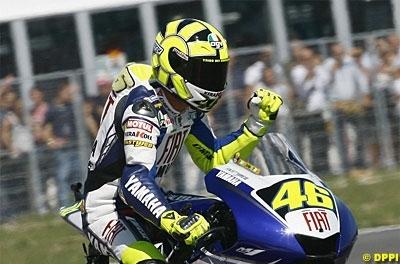 Moto GP: San Marin: Casse moteur et crève-coeur pour Rossi
