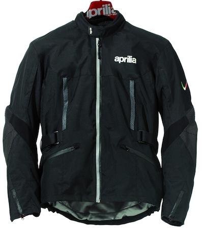 Aprilia nouveauté 2012: veste moto