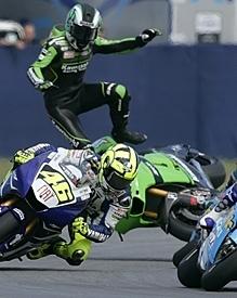 """Moto GP: San Marin: Kawasaki: """"Randy coupable"""""""