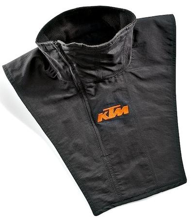 KTM: Checked Scarf et Neck Warmer pour garder votre cou au chaud