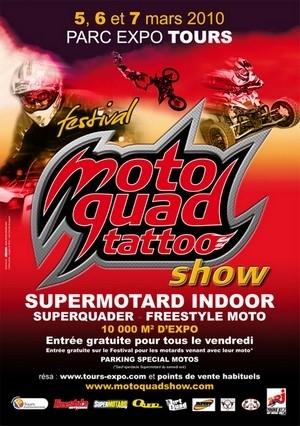 Tours (37) : Festival Moto Quad Tatoo Show du 5 au 7 mars.