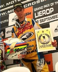 MX 1 : Suzuki, champion sur tous les fronts
