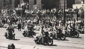 Harley-Davidson: En première ligne des commémorations du débarquement en Normandie