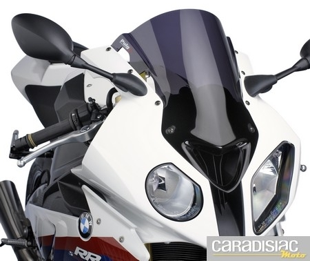 Puig: une bulle Z-Racing pour la BMW S1000 R.