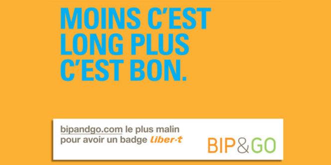 Bip&Go où comment acheter son badge Liber-t en 5mn sur internet (adios l'arrêt derrière un péage..)