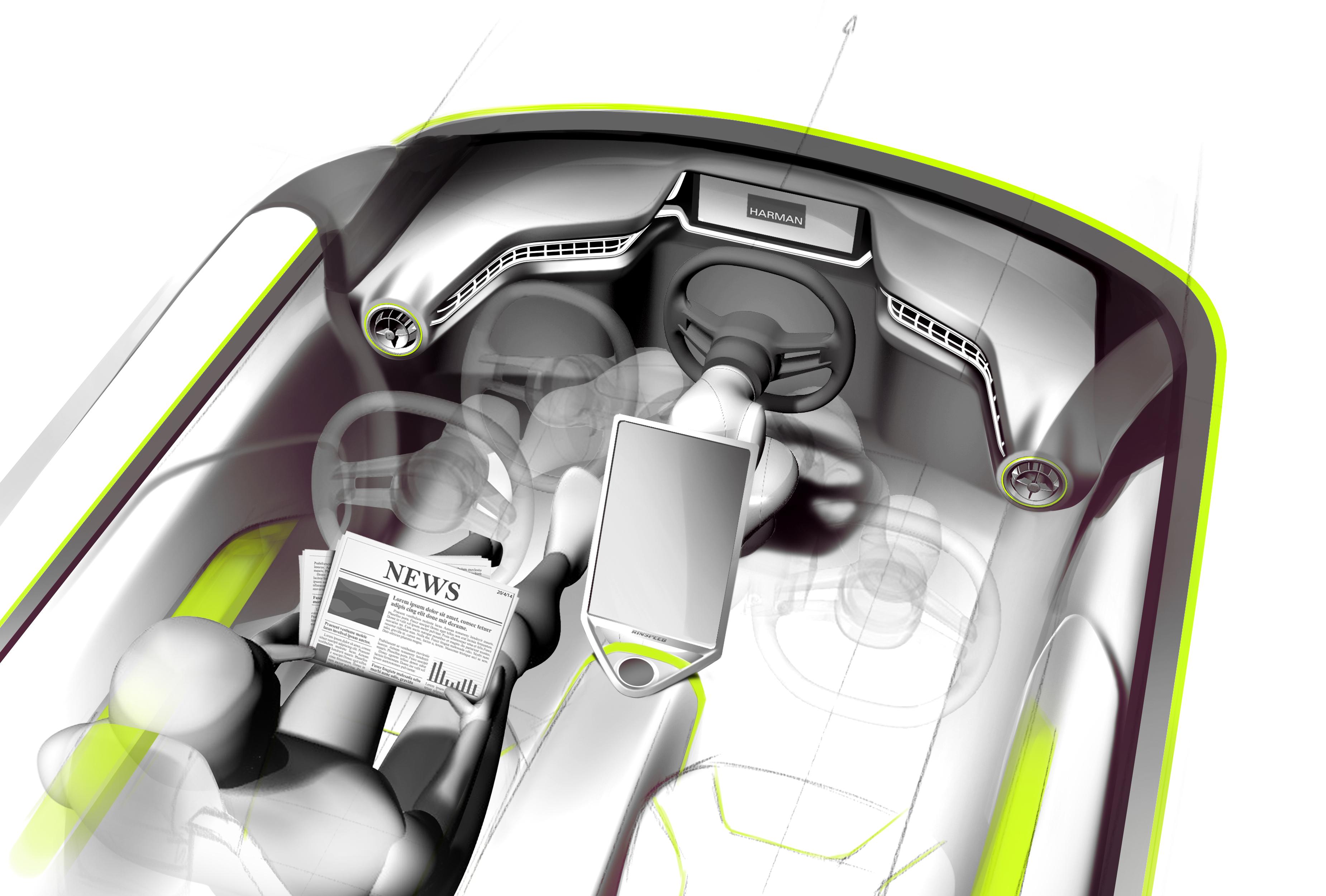 gen ve 2015 le pr parateur suisse rinspeed d voile budii auto autonome. Black Bedroom Furniture Sets. Home Design Ideas