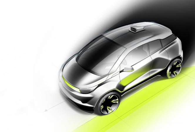 """Genève 2015 : le préparateur suisse Rinspeed dévoile """"Budii"""", auto autonome"""