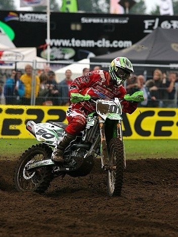 MX : Kawasaki rate le podium de peu en MX1