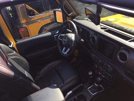 Jeep Wrangler 2018 : les premières images de l'essai en live