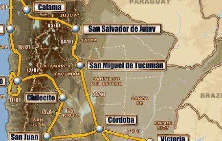 Dakar 2011 : 3ème étape, de San Manuel de Tucaman à San Salvador de Jujuy