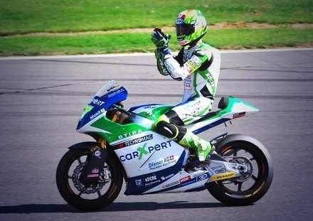 Moto GP: Dominique Aegerter va tester une mystérieuse Kawasaki