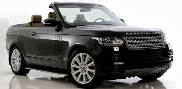 Le préparateur NCE propose le nouveau Range Rover en cabriolet et coupé