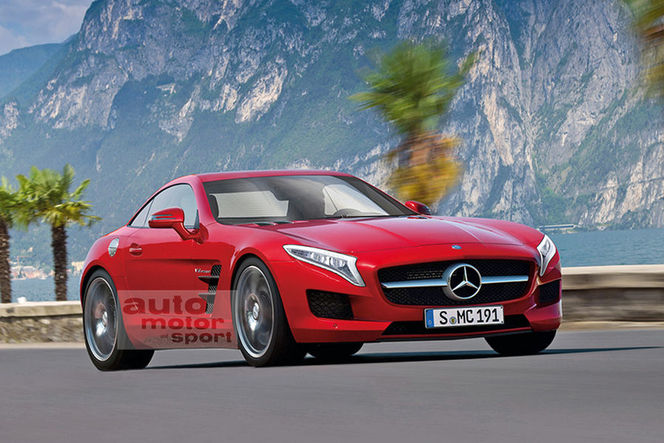Mercedes retarde le SLC jugé trop cher