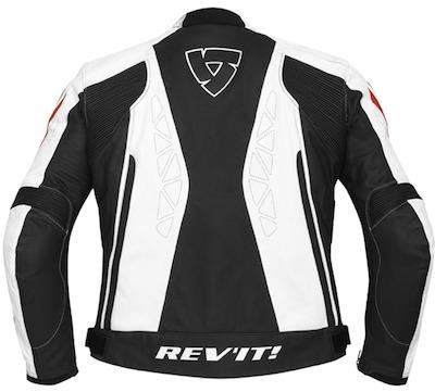 Rev'it Apollo: un blouson cuir ambiance racing.