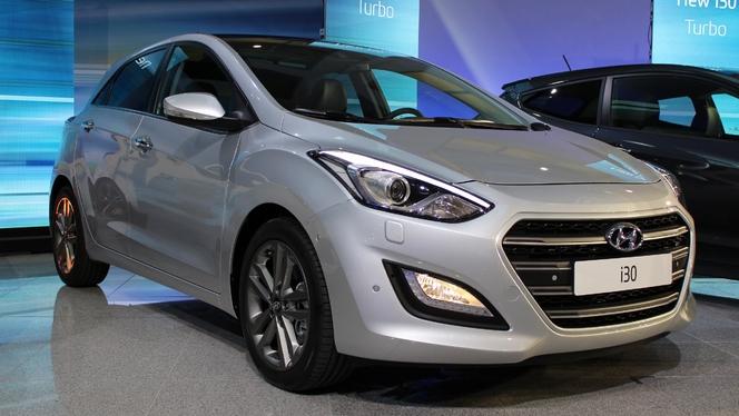 Présentation - Hyundai i30 restylée : une version turbo et une boîte à double embrayage
