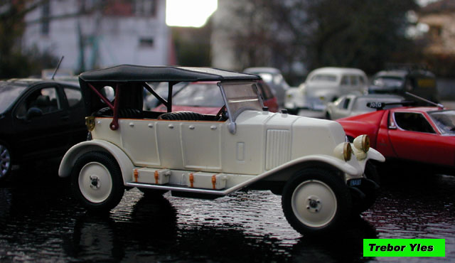miniature   renault 6cv type nn torp u00e9do de 1927