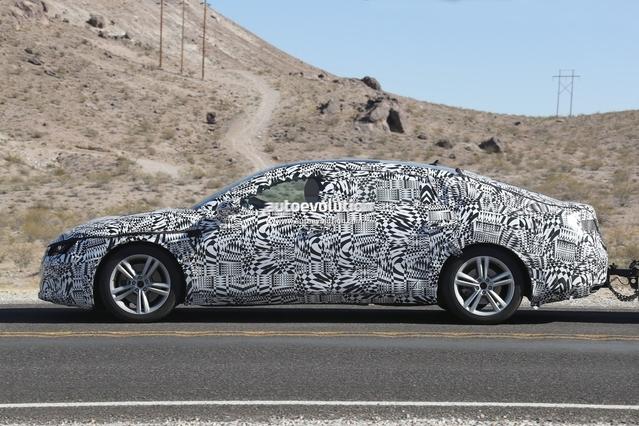 Scoop : la future Volkswagen CC en balade