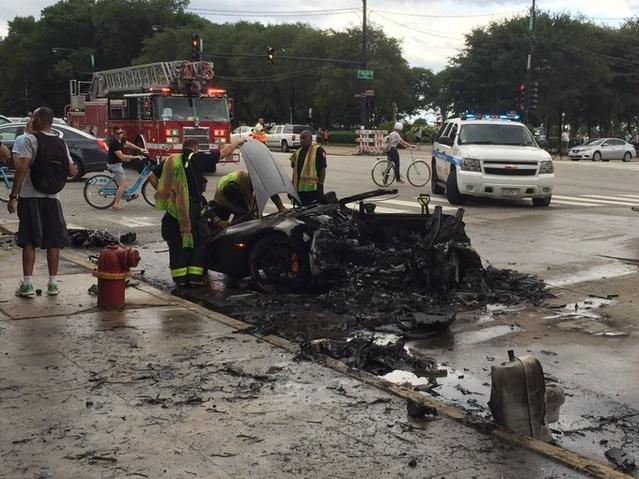 Crash : une Lamborghini Huracan coupée en deux suite à un gros choc